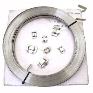 Ss201 de acero inoxidable de alta calidad Correa de bandas