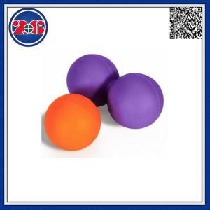 El doble de silicona Bola de Lacrosse masaje yoga bola para Gym Fitness Body building