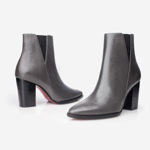 販売法の井戸の最新の方法女性のレザー・ブーツ