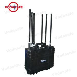 Drone Jammer Modelo: Djpl6 Bloqueo para RC2.4GHz/RC868-916MHz o 433MHz/RC5.8GHz/GPSL1/GPSL2/GPSL5