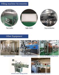 Máquina de enchimento de bebidas automática para linha de engarrafamento de água/água