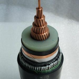 1x400 mm2 Cu/XLPE/PVC 33kv Fio de Alumínio Cabo Blindado