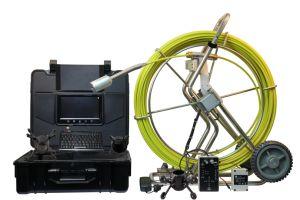 Varilla de empuje Wopson Cámara de inspección de tuberías de drenaje para el servicio con monitor digital