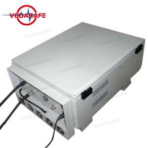 Het Blokkerende Systeem van de Gevangenis van de hoge Macht, Uav van de Stoorzender van de Hommel GPS van anti-Uav van de Breker Uav van de Stoorzender 600W de Macht van de Output, de Straal van de Dekking tot 100300m,