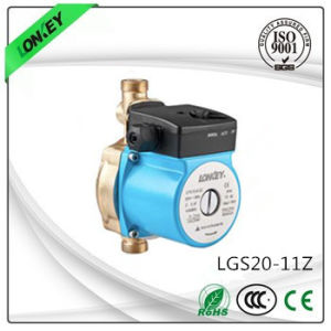 pompa di circolazione d'ottone automatica dell'acqua calda 180W per la famiglia Lgs20-11z