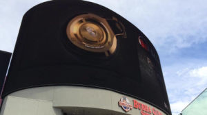 Outdoor P10 LED Haute luminosité écran géant de l'Arc