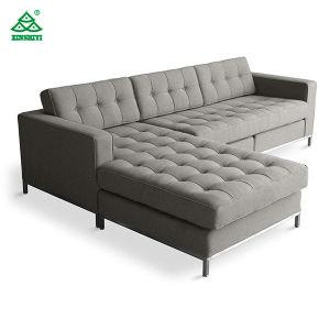 Mobilier de l'hôtel personnalisé projet simple Hall canapé Housse en cuir