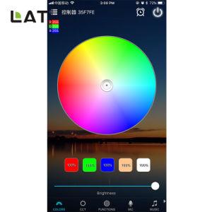 Smart WiFi SMD RGB 5050 5M 30/60/120LED tiras LED flexibles de trabajo liviano con Echo que Alexa