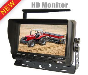 720p câmara incorporada do Sistema do Monitor em ré sem fio de 2,4 GHZ