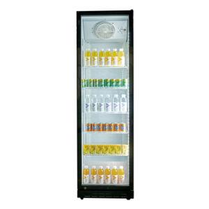 La puerta de cristal de pantalla de cristal de Folleto comercial del refrigerador refrigerador