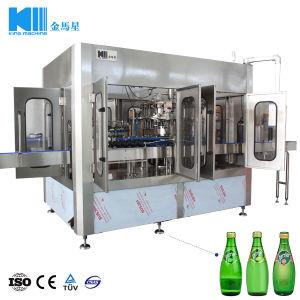 Macchina di rifornimento automatica piena della bevanda del coperchio a vite della bottiglia di vetro