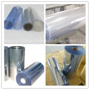 Feuille de plastique Extrusion avec PLC HMI de ligne de commande automatique
