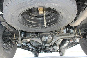 Novo motor Isuzu Qingling Taga 5 Lugares 4 Portas Pickup de 4X4