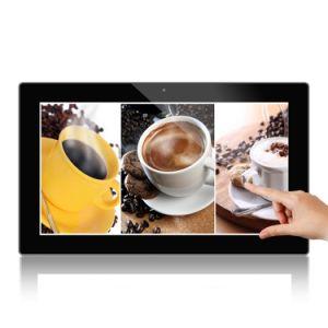 mando a distancia Digital Signage Player Android Publicidad Reproductor multimedia con pantalla táctil de 18 pulg.