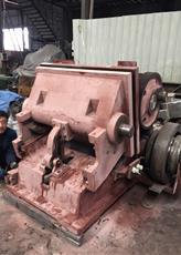 Halbautomatische faltende Maschine mit dem heißen Stempeln (TYMK-750/TYMK-930/TYMK-1100)