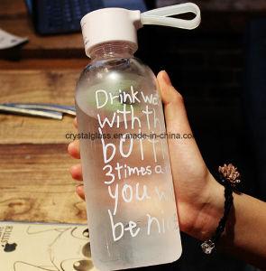 Getränkeflaschenglas-Wasser-Flasche anpassen