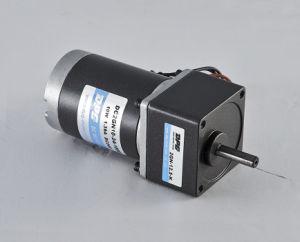 Motor eléctrico 10W de alta eficiencia de 60mm 12V 24V para la automatización y ligero motor DC