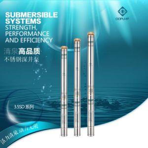 Aço inoxidável4/13 3.5sdm bomba submersível Bomba de 3,5