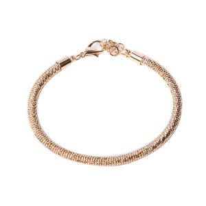 Scharfsinniges Form-Schmucksache-Goldarmband mit Rhinestone