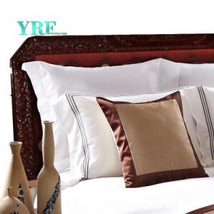 Yrf는 호텔 100%년 면 침구 킹사이즈 베드 리넨 호화스러운 침구 세트를 주문을 받아서 만들었다