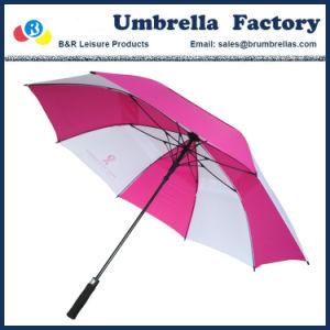 De Paraplu van het Golf van de opening met Embleem 30 van de Douane