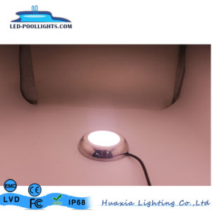 最も新しい12V 8W RGBの表面の壁のMounthed LEDのプールライト316ステンレス鋼の私用モード
