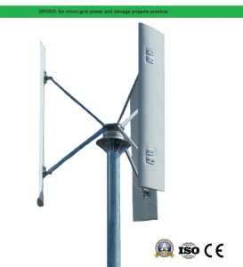 Micro supervisa el sistema de alimentación de cuadrícula de 5kw instalado en el techo