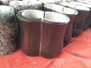 Кладбище похороны вазы из гранита Flower Pot вазы из природного камня для продажи оптового продавца