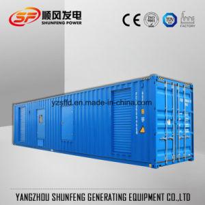 Geluiddichte Stille Diesel van de Stroom van Cummins van de Container 1500kVA 1200kw Generator