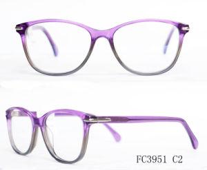 Het Optische Frame van uitstekende kwaliteit van de Acetaat voor Dame met het Oogglas (van Ce)