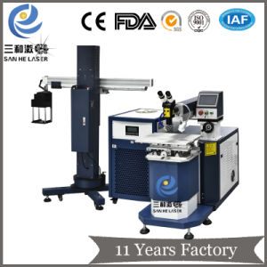 Fabricante China Molde de 400W máquina soldadora láser