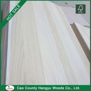 Lieferant Paulownia hölzernes materielles rohes gesägtes Bauholz-Holz