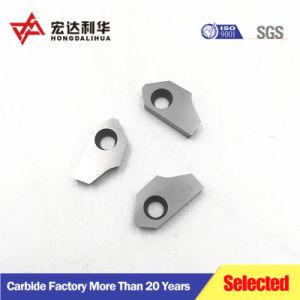 Blad van de Snijder van het wolfram het Carbide Gecementeerde, de Zetel van de Klep van het Carbide