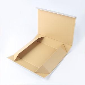 Don reciclado personalizado embalaje plegable plegable marrón Caja de papel Kraft