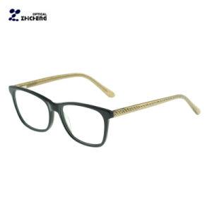 新製品の光学ガラスのアセテートの女性のための長方形の接眼レンズフレーム
