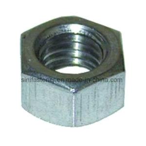DIN934 Tuercas Hexagonales DIN985 de inserción de nylon Hexagonal tuerca de bloqueo