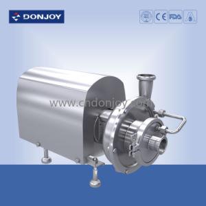 Les mesures sanitaires de la pompe centrifuge Self-Priming en acier inoxydable- Zxl série