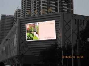 P10 de la publicité extérieure de l'écran LED de couleur mur vidéo complète