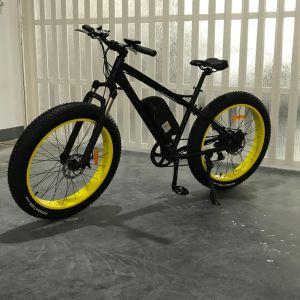 Vehículo de 350 W de ayuda del pedal neumático Fat Mountain Bike Bicicleta eléctrica