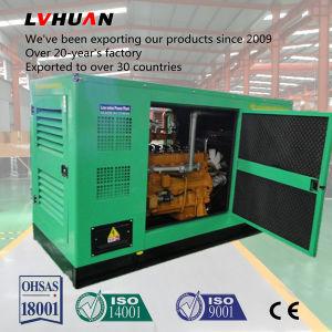Energía verde 30kw Gas Natural generador silencioso con Ce ISO