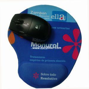 Mouse pad Gel impresso com o punho restante