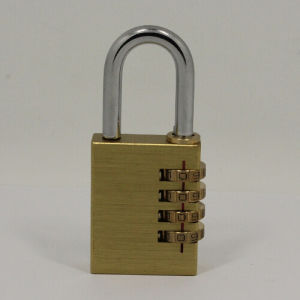 Contraseña de bloqueo de la combinación de latón de Candado de bloqueo digital de código (110384)