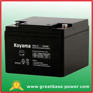 SMF de boa qualidade Bateria Bateria de chumbo-ácido VRLA 26ah 12V