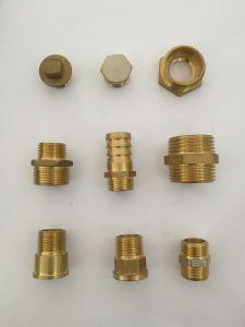 Conector de la manguera de latón de alta calidad Adaptador de tubería (YD-6015)