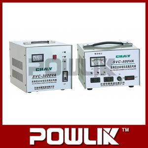 SVC-3000va Single-Phae Full-Automatic de alta precisão do estabilizador de voltagem AC