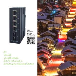 8*10/100M 전기 포트 + 2 기가비트 SFP 산업 스위치