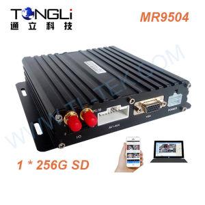 4 Kanal 720p Ahd bewegliches DVR mit GPS und WiFi