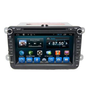 두 배 DIN Andrioid 라디오 선수 DVD GPS 시스템 VW Touran 2007-2012년