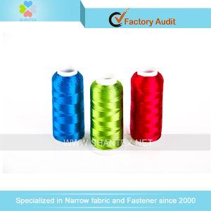 De Draad van het Borduurwerk van de Polyester van 100% in Alle Kleuren met Concurrerende Prijs