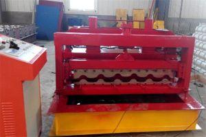 Appuyez sur la machinerie froide hydraulique ondulation tuile de toit machine à profiler galvanisé